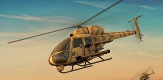 Украинский легкий противотанковый вертолет КТ112 Combat. Главные новости сегодня