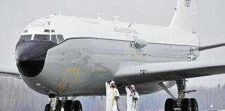 Радиационный разведчик Boeing WC-135C