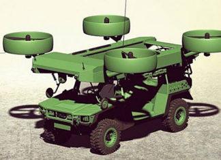 Летающий броневик спецназа E-LSFV. Главные новости сегодня