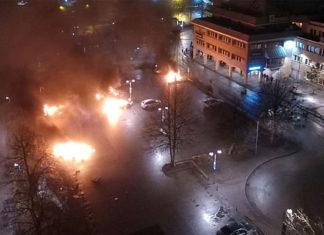 Беспорядки в Стокгольме. Главные новости сегодня