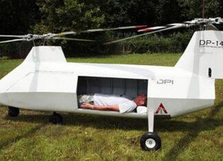 Беспилотный вертолет DP-14 Hawk для эвакуации раненых. Главные новости сегодня