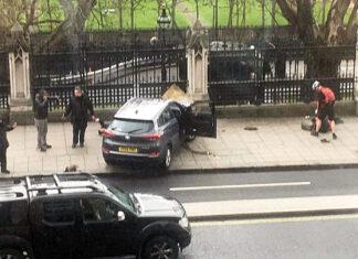 Лондон. На Вестминстерском мосту машина сбила людей. Главные новости сегодня