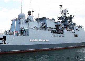 фрегат ВМС РФ Адмирал Григорович. Главные новости сегодня