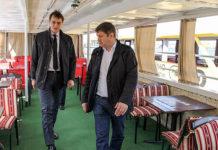 Киевский речной трамвай. Главные новости сегодня