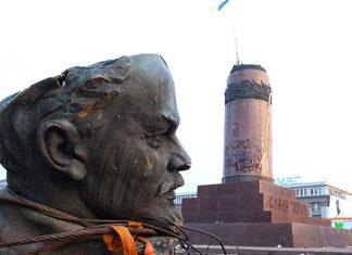 Украина. Поверженный Ленин. Главные новости сегодня