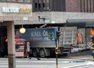 автомобильный теракт в Стокгольме. Главные новости сегодня