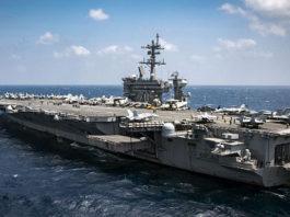 авианосец USS Carl Vinson CVN-70. Главные новости сегодня