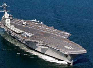 USS Gerald Ford aircraft carrier. Авианосец Форд. Главные новости сегодня