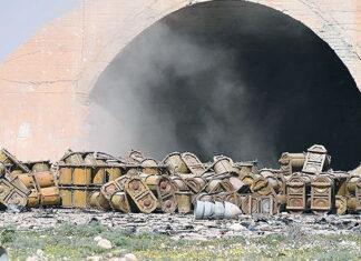 Сирия, Шайрат. Контейнеры для двухкомпонентных боевых отравляющих веществ. Главные новости сегодня