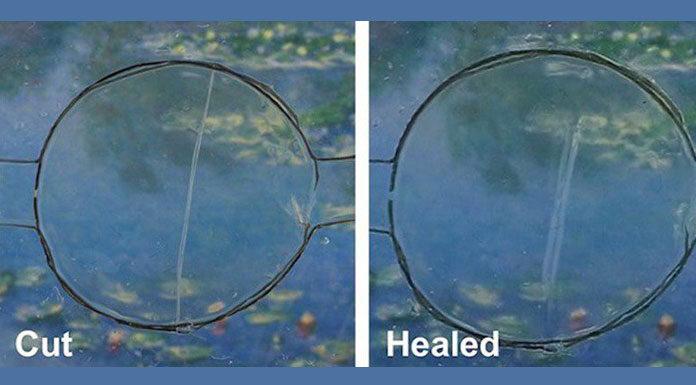 самовосстанавливающееся регенерирующее стекло. Главные новости сегодня