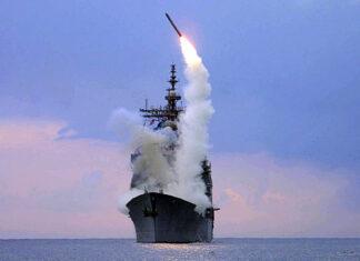 запуск крылатой ракеты Томагавк с корабля ВМС США. Главные новости сегодня