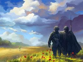 9 мая. Рисунок Беаты Куркуль. Главные новости сегодня