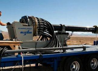 Электромагнитная пушка (рельсотрон) Blitzer General Atomics. Главные новости Украины сегодня без цензуры