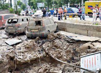 Прорыв водопровода в Киеве. Главные новости Украины сегодня без цензуры
