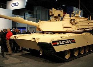 Танк Abrams M1A2 SepV3. Главные новости сегодня