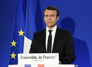 Эмманюэль Макрон, избранный президент Франции. Главные новости сегодня