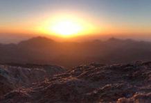 Рассвет на горе Моисея. Главные новости сегодня