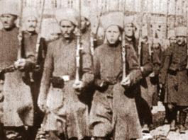 Парад петлюровских войск на Софиевской площади в Киеве 17 декабря 1918 г. Главные новости сегодня