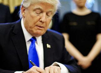 Трамп подпись. Главные новости сегодня