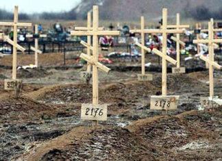 Могилы путинистов в Украине, Донбасс. Главные новости сегодня