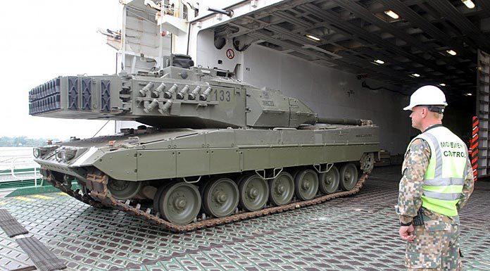 танк Леопарт НАТО в Риге. Главные новости Украины сегодня без цензуры