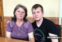 путинский солдат и террорист Агеев с матерью. Главные новости Украины сегодня без цензуры