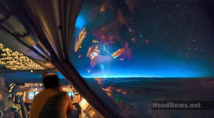 взлет ракеты, фото с самолета. Главные новости Украины сегодня без цензуры