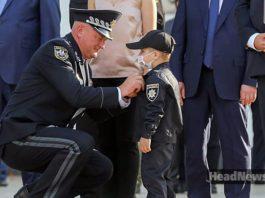 Глеб Хуртепа стал полицейским. Главные новости Украины сегодня без цензуры