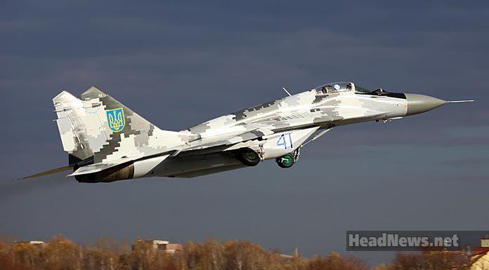 МиГ-29 ВВС Украины. Главные новости Украины сегодня без цензуры