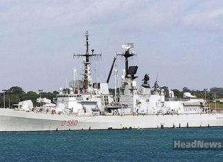 итальянский эсминец D560 Luigi Durand de la Penne. Главные новости Украины сегодня без цензуры