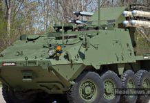 БТР с ракетами Stryker MSL. Главные новости Украины сегодня без цензуры
