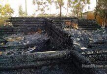 пожар в лагере Виктория. Главные новости Украины сегодня без цензуры