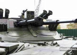 Боевая машина поддержки танков Страж. Главные новости Украины сегодня без цензуры