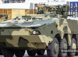 Украинский БТР-4МВ1. Главные новости Украины сегодня без цензуры