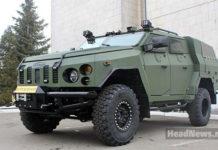 броневик Варта-Новатор. Главные новости Украины сегодня без цензуры