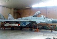 МиГ-29МУ2 - истребитель-бомбардировщик ВВС Украины. Главные новости Украины сегодня без цензуры