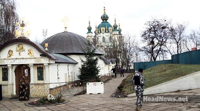 Незаконный сарай секты Гундяева в Киеве. Главные новости сегодня