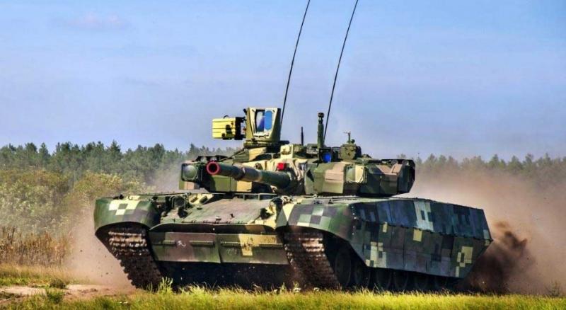 БМ «Оплот» (кардинально модернизированный танк Т-84У). Главные новости Украины сегодня без цензуры