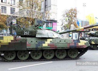 Танк T-72AMT. Главные новости Украины сегодня без цензуры