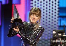 Тейлор Свифт. American Music Awards 2018. HeadNews Music - Мария Мирошниченко