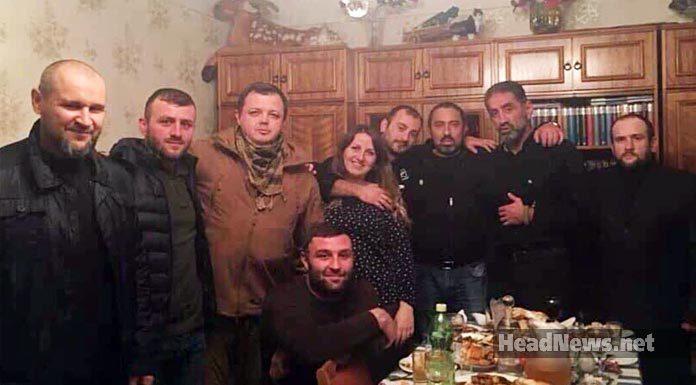Гришин (Семенченко) и его банда в Грузии. Главные новости Украины сегодня без цензуры