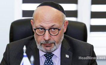 Посол Израиля в Украине Джоэл Лион - украинофоб и невежда. Главные новости Украины сегодня без цензуры