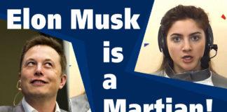 Elon is a Martian. Илон Маск - марсианин!