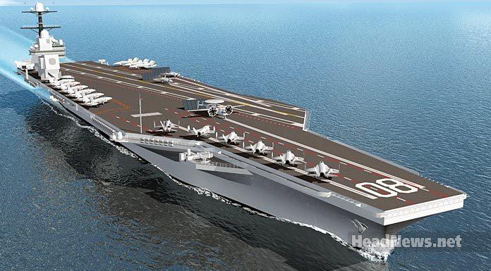 USS CVN-80 авианосец США. Главные новости Украины сегодня без цензуры