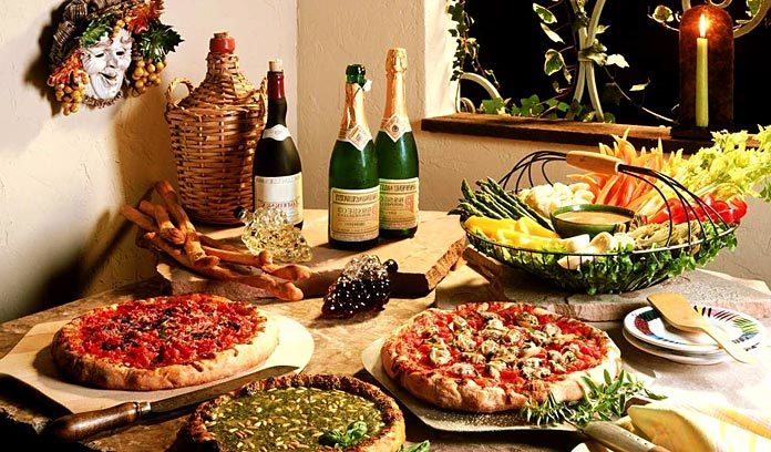 Итальянский пикник на Пейзажной аллее