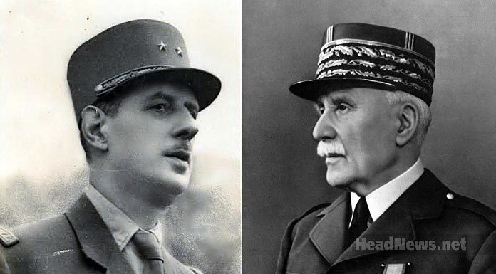 Шарль де Голль и Анри Филипп Петен. Главные новости Украины сегодня без цензуры