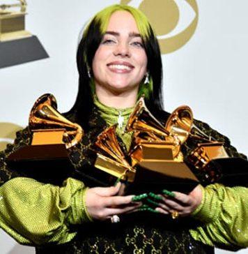 Billie Eilish 5 Grammy